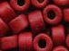 Red - 6x4mm Greek Ceramic Beads