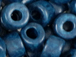 Dark Blue - 6x4mm Greek Ceramic Beads