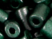 Green - 10x6mm Greek Ceramic Tubes