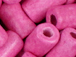 Hot Pink - 10x6mm Greek Ceramic Tube