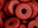 Red - 8x2.5mm Greek Ceramic Washer