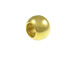 100 - 6mm Ball Bead Brass Plated