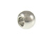 100 - 6mm Ball Bead  Nickel Plated