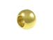 100 - 7mm Ball Bead Brass Plated