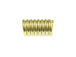 1000 - Stopper Spring for 2.5mm Cord Brass Plated