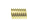 1000 - Stopper Spring for 3mm Cord Brass Plated