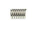 1000 - Stopper Spring for 3mm Cord  Nickel Plated