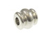 1000 - 6.5x7mm Double Hourglass Bead  Nickel Plated
