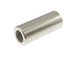 1000 - 12mm Straight Tube Bead  Nickel Plated