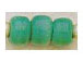 6mm Opaque Turquoise Crow Beads