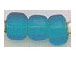 9mm Light Turquoise (Translucent) Crow Beads