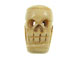 "1.25"" Carved Bone Skull Shape Bead"