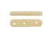 3-Strand White Bone Spacer Bar