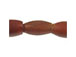 "0.5"" Amber Horn Hair Pipe Bead Strand"