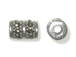 Sterling Silver Marcasite Bead