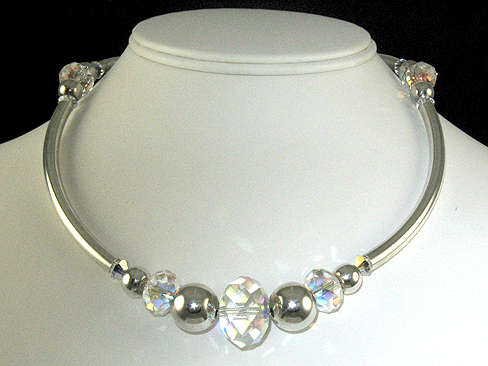 Silver Classic Beauty Necklace