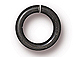 100 - TierraCast JUMP RING 7.5mm Round Black Plated