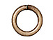 100 - TierraCast JUMP RING 7.5mm Round Oxidized Brass Plated