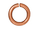 100 - TierraCast JUMP RING 7.5mm Round Antique Copper Plated