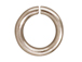 100 - TierraCast JUMP RING 7.5mm Round Rhodium Plated