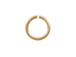 100 - TierraCast JUMP RING 5.5mm 20 Gauge Round Gold Plated