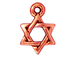 20 - TierraCast Pewter Star of David Pendant Antique Copper Plated