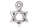 20 - TierraCast Pewter Star of David Pendant Antique Silver Plated