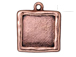 5 - TierraCast Pewter Antique Copper Plated Abstract Large Square Frame