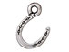 10 - TierraCast Pewter CHARM Horseshoe Antique Silver Plated