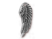 5 - TierraCast Pewter DROP Wing, Antique Silver Plated