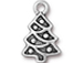 10 - TierraCast Pewter CHARM Christmas Tree, Antique Silver Plated