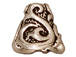 20 - TierraCast Pewter CONE Lily, Antique Silver Plated