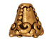 20 - TierraCast Pewter CONE Heirloom , Antique Gold Plated