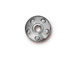 10 - TierraCast Pewter Rivet Bead Cap Bright Rhodium Plated
