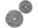 10 - TierraCast Round Woven Disk Embellishment Antique Pewter Plated