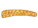 5 - TierraCast Toggle Bar ONLY Hammered Pewter, Bright Gold Plated