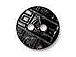 10 - TierraCast Pewter Button Round Coin Black Finish