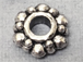 Beaded Pewter Spacer Bead