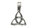Pewter Celtic Triangle Infinity Charm