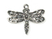 Pewter Dragonfly Charm