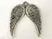 Angel Wings Pewter Pendant