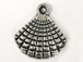 Sea Shell Pewter Pendant