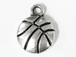 Basketball Pewter Pendant