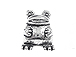 Frog Large Hole Pewter Bead