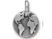 10 - TierraCast Antique Silver Earth Charm