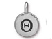 TierraCast Pewter Alphabet Charm Antique Silver Plated -  Theta