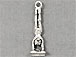 Sterling Silver Female Handstand Gymnast Charm