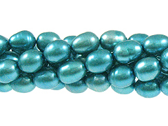 Freshwater Pearl - Turquoise Blue