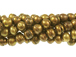 Freshwater Pearl - Antique Gold