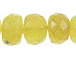 Faceted Multi- Yellow Opal Rondelles